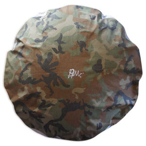 Round Dog Bed [L] : CAMO