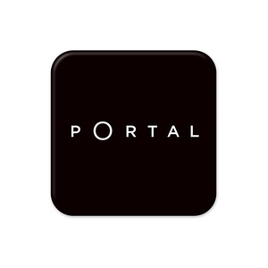 PORTAL 缶バッジ(ロゴver.)
