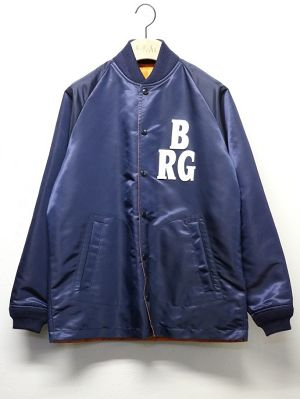 "SUNNY SPORTS / サニースポーツ | 【 Sale 20%off 】 "" NLBM COACHES JACKET "" BRG-NAVY"