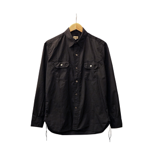 WORK SHIRT WITH ELBOW PATCH (S.I.C BLACK BROAD)