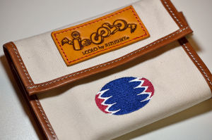 "【B-type】""Chevron"" Tissue & Mask case (オフホワイト)"