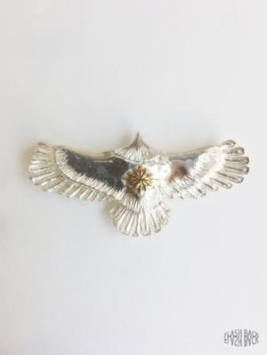 FLASHBACK最新作Japan HandMade Silver925 Eagle Top Necklace SMALL