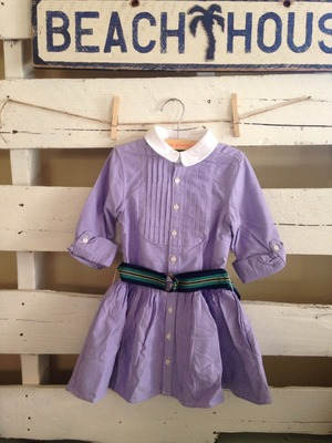 【KIDS】RLPH LAREN // OXFORD DRESS