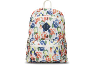 TOMS CANVAS LOCAL BACKPACK - Watercolor Tangerine