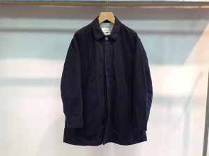 "WHOWHAT""SOUTIEN COLLAR JACKET BLACK"""