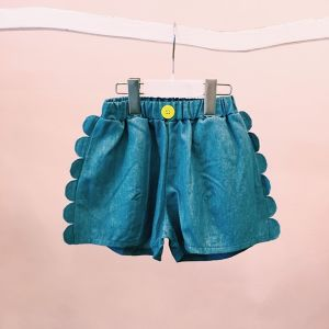 WAVE DENIM SHORT PANTS / LL
