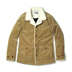 015001003(ST-CORD RANCH JACKET)BEIGE