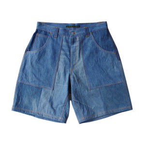 T0239DB_Re-make Denim Shorts Size M B