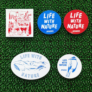 .HYAKKEI sticker【LIFE WITH NATURE Special Set】