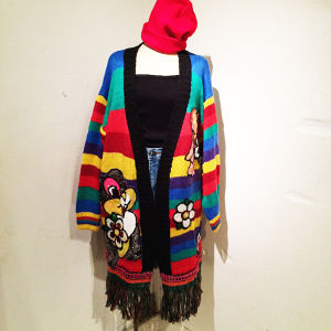 Rainbow Spangle Cardigan