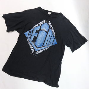 THE FiRM 1985's BAND TEE-SHIRTS