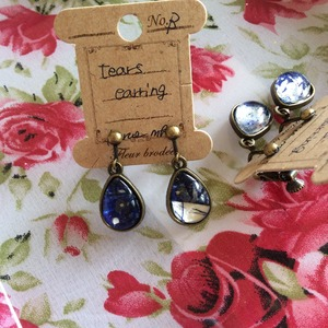 tears earrings