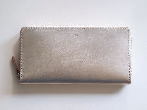 【irose】POP-UP LONG WALLET 長財布 SILVER