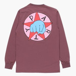 [ by Parra ] party L/S TEE