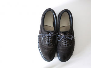 1980's Vans Black Made in USA