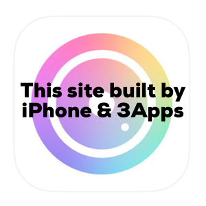 This site built by iPhone and 3Apps