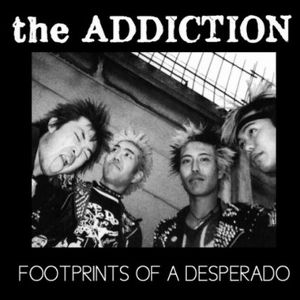 "ADDICTION - footprints of a desperado 7""FLEXI+DOWNLOAD"