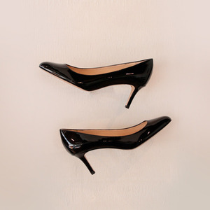 FABIO RUSCONI / KIM plain toe pumps