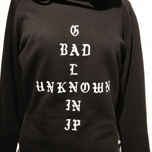 BAD GAL UNKNOWN Hoodie / White