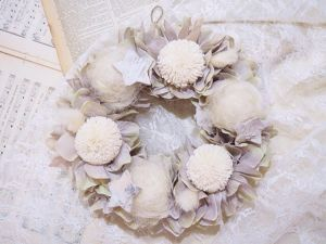 shabby chic wreathe