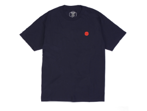 BUTTER GOODS MINIMAL WORLDWIDE S/S TEE NAVY サイズM