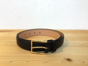 "semoh""Leather Belt Black"""