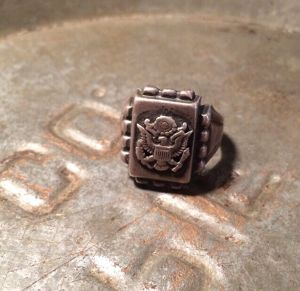 WWⅡ vintage US.ARMY ring