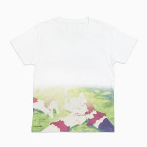 Winter Fair★<harmony/>Three Girls Adolescence T-shirt_fantasista utamaro design