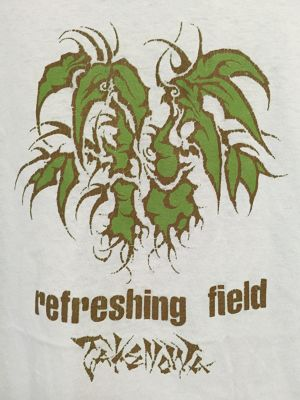 late90's〜early2000's green leaf T's