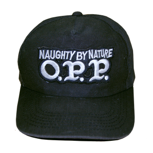 """Naughty by Nature / O.P.P."" Vintage Cap Used"