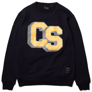 CS BLOCK CREW NECK SWEAT