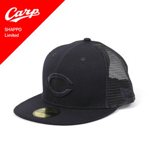 NEWERA(ニューエラ)59FIFTY メッシュキャップ CARP SHAPPO Limited / NAVY 11331465