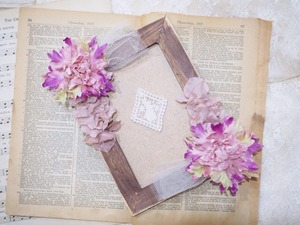antique photo frame ②