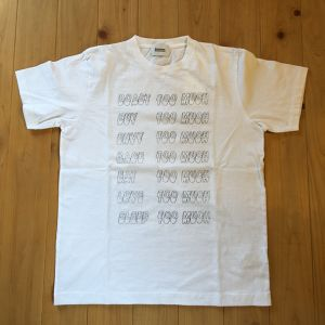 "blurhms ""Too Much Tee(White, Ash Black)"