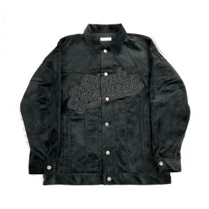 BLACK  EYE PATCH CORDUROY JACKET