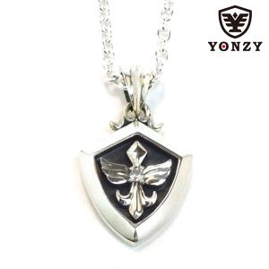 YONZY Phoenix Necklace  SV  ホワイトトパーズ