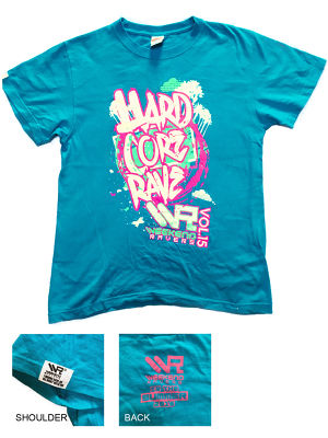 WEEKEND RAVES T-SHIRT 2016 - IN THE SUMMER MODEL -