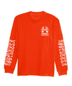 【受注予約商品】88POSSE L/S T-SHIRTS (RED)