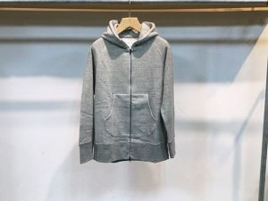 "CURLY""RAFFY ZIP PARKA GRAY"""