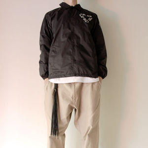 """Japanese Lolipops"" 劇修 THE END coach jacket"