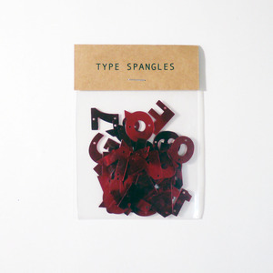 TYPE SPANGLES レッド