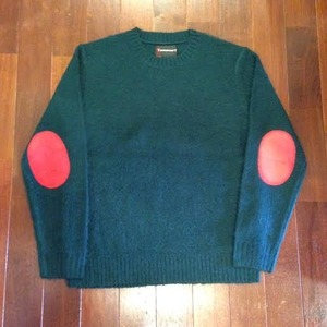 """TOWN CRAFT / タウンクラフト   【大特価SALE!!! 40%OFF】 """" MOHAIR KNIT """" - Green"""