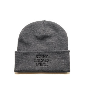 WWWTYO x RepMCD 4th ANNIVERSARY / SORRY LOCALS ONLY KNITCAP