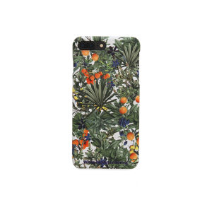 iPhone7Plus case【TROPICAL PATTERN】- WHITE