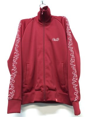 SKIN / fire track jacket(red)