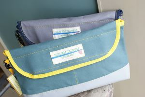 """new age trippers """"Canvas Clutch Bag"""""""