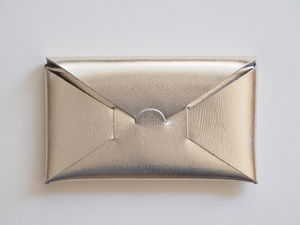 【irose】SEAMLESS LONG WALLET 長財布 SILVER