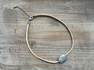 2way Concho choker (real leather)