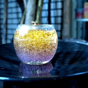 color gel candle