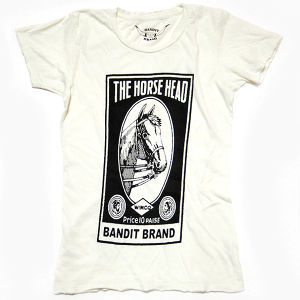 Bandit Brand Horse Head Tee, #WT-hh